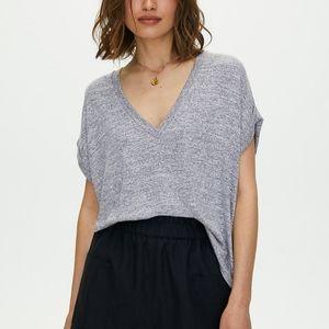 Aritzia Wilfred Free Brosh Oversized Relax Shirt